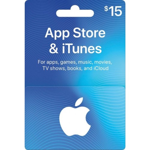 iTunes 15 $ Gift Card